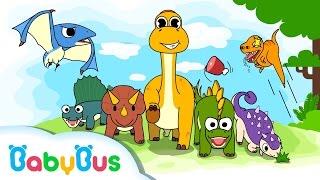 恐竜の楽園 | 恐竜がきたよ | 子ども・幼児向け知育アプリ | 赤ちゃんが喜ぶ アニメ | 動画 | BabyBus thumbnail