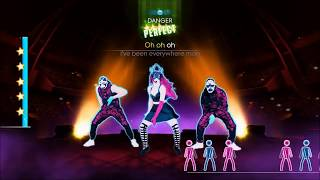 JUST DANCE 2014 WHERE HAVE YOU BEEN ON STAGE 5 STARS