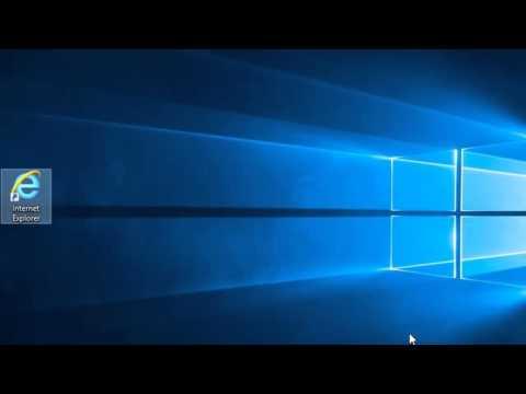Create a Shortcut to Internet Explorer In Windows 10