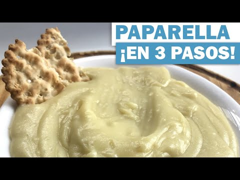 QUESO DE PAPA VEGANO (PAPARELLA): RECETA FÁCIL EN 3 PASOS