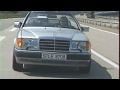 Mercedes 300 CE Cabriolet (Test - Essai - Reportage) FR 1992