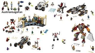 All Lego Ninjago Day of the Departed Sets 2016 - Lego Speed Build Review
