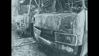 В огне погибли 30 автобусов – практически весь городской автопарк