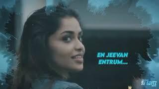 Nam kadhal solla mozhi theva illa | Tamil love whatsapp status video | Usuraiya tholaichaen