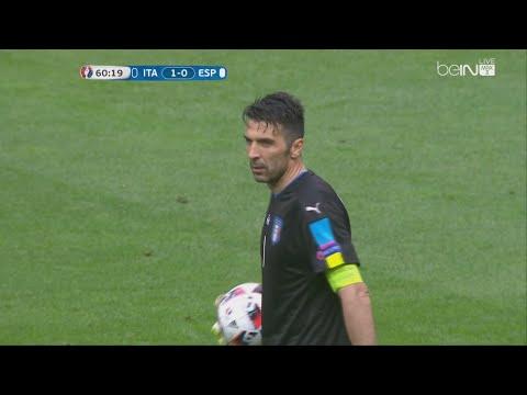 Gianluigi Buffon vs Spain - Euro 2016 (27.06.2016) HD 720p