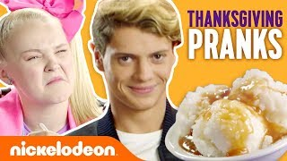 Thanksgiving Pranks 🦃  Ft. JoJo Siwa, Jace Norman & More! | #FunniestFridayEver