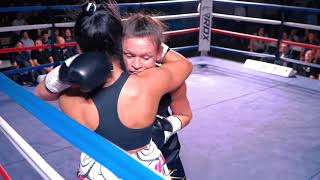 CARLY SKELLY VS ROZ MARI SILYANOVA - BLACK FLASH PROMOTIONS | EVERTON RED TRIANGLE | LIVERPOOL