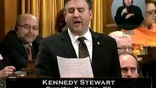 Question Period, 14 December 2011, Part 2 (Parliament of Canada): The Environment