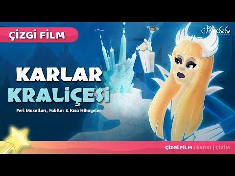 karlar kraliçesi karlar ülkesi çizgi film türkçe masal 6  adisebaba çizgi film masallar