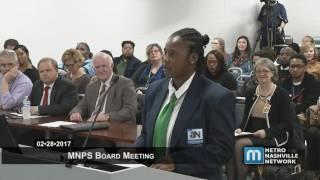 02/28/17 MNPS Board Meeting