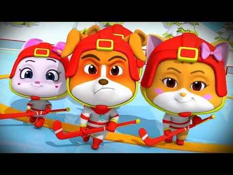 Ice Hockey | Cartoons For Kids and Children | Fun Videos For Babies
