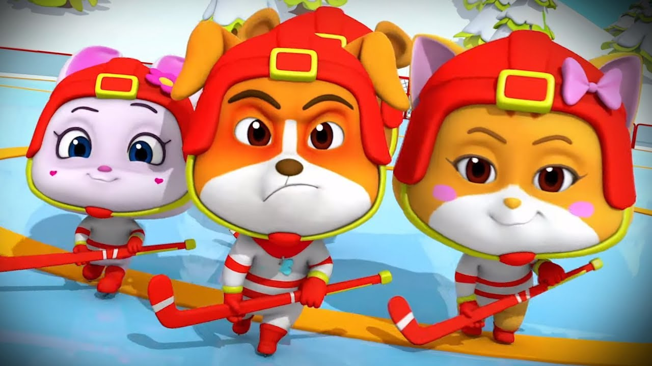 Ice Hockey Cartoons For Kids And Children Fun Videos For Babies Youtube