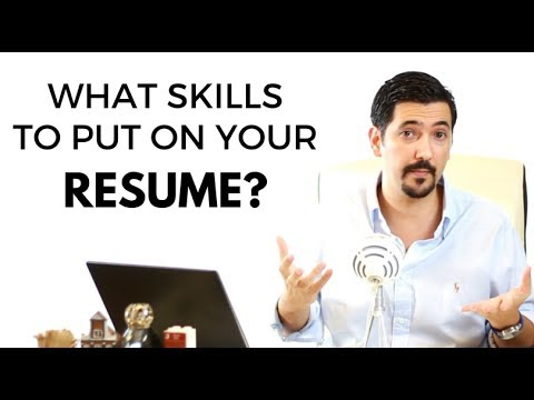 What Skills to Put On a Resume? Learn this trick to increase your chances ✓