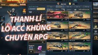 Truy kích ✓- Thanh Lí Lô Acc Khủng Chuyên RPG Giá Tốt, Múc Ngay AE!