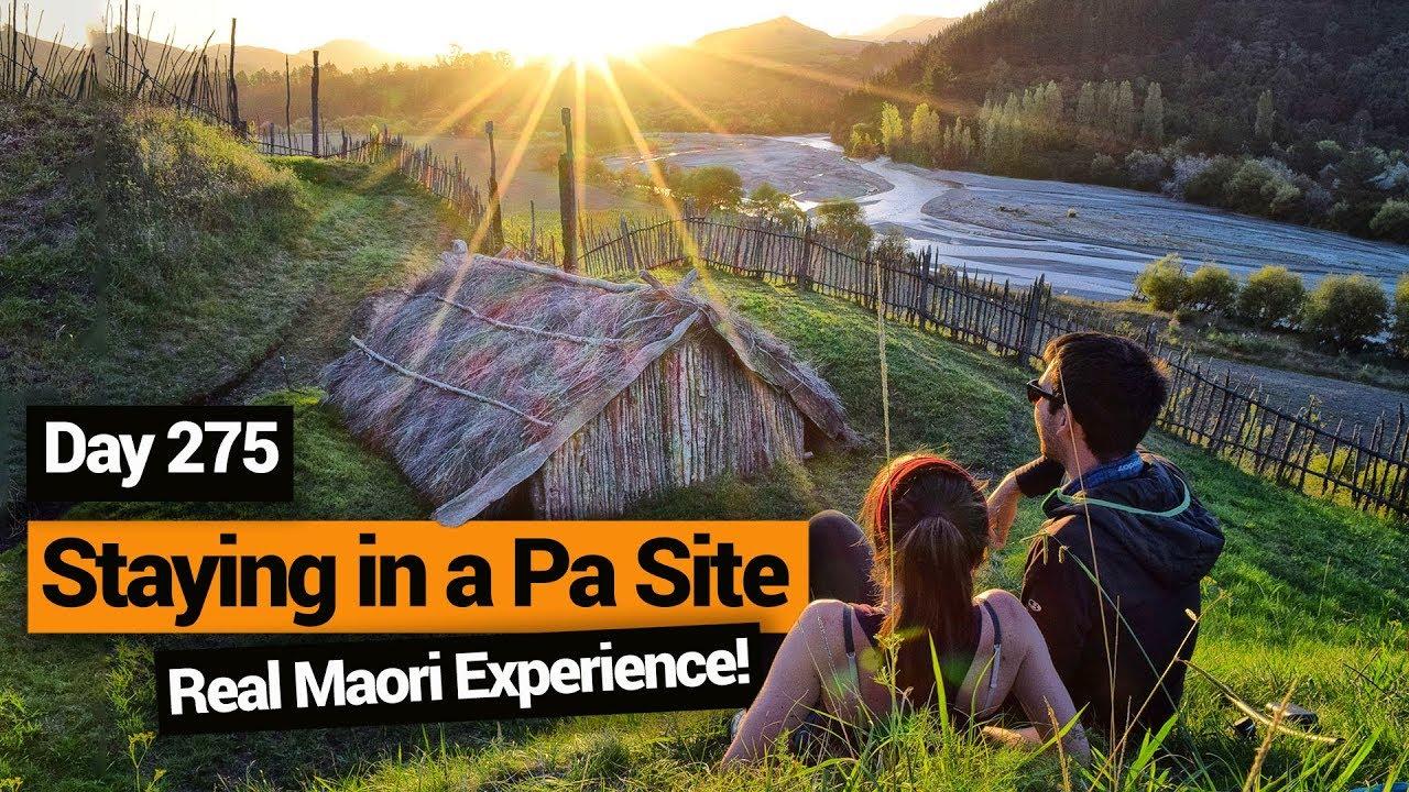 Staying On A Maori Pa Site