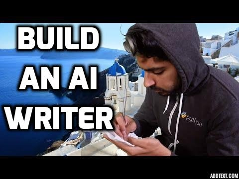 Build an AI Writer - Machine Learning for Hackers #8