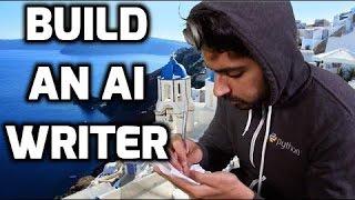 Construire une IA Writer - l'Apprentissage de la Machine pour les Pirates #8