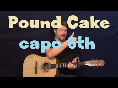 Pound Cake (Drake) Easy Strum Guitar Lesson How to Play Chords Tutorial