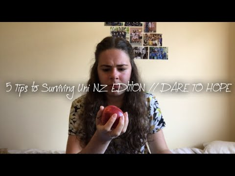 5 Tips to Surviving Uni NZ EDITION // DARE TO HOPE