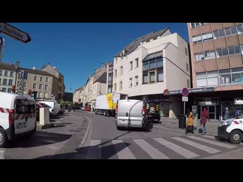 France Moselle Thionville City Center, Gopro / France Moselle Thionville Centre Ville, Gopro