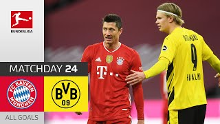 Haaland's Brace Not Enough Against Unstoppable Lewandowski | Bayern vs. Dortmund | MD 24