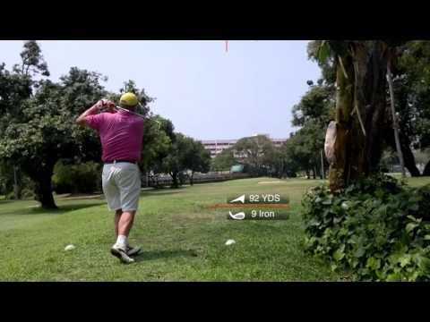 3rd Hole ZZ Tee Shot Asia Pattaya Golf Course Thailand