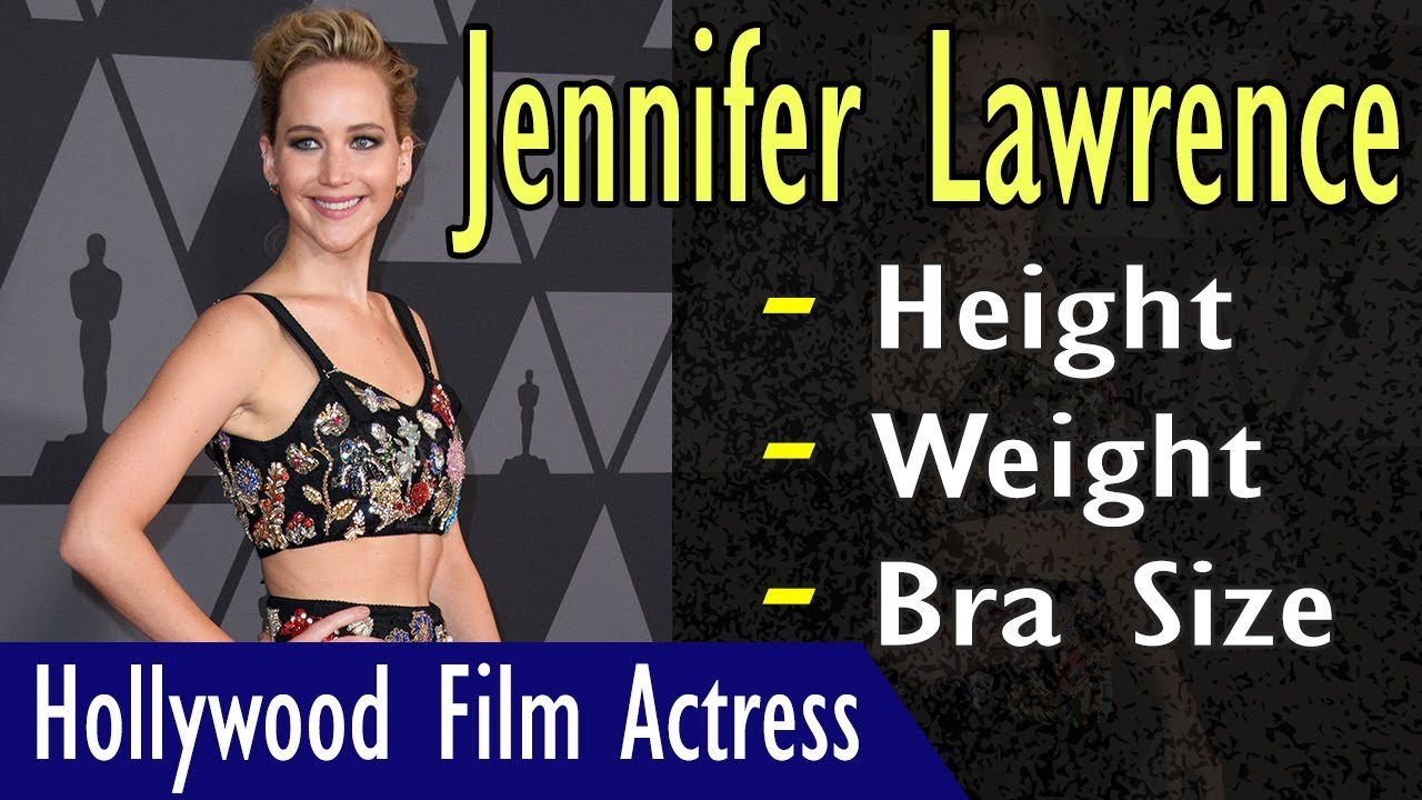 jennifer lawrence height
