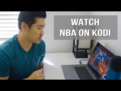 Watch NBA Games On KODI