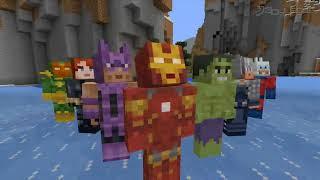 Minecraft   Marvel Avengers Skinpack X360