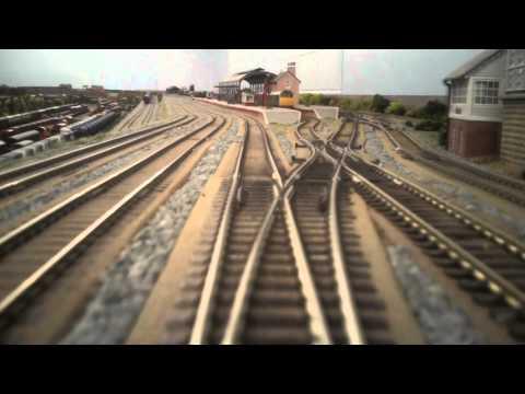 North East model railway – DMU Cab Ride
