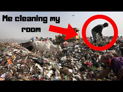 How to clean your room FAST! (idk why I filmed this)
