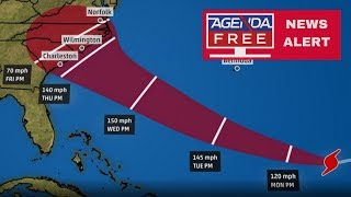 Hurricane Florence Update: The Threat Grows - LIVE COVERAGE 9/9/18