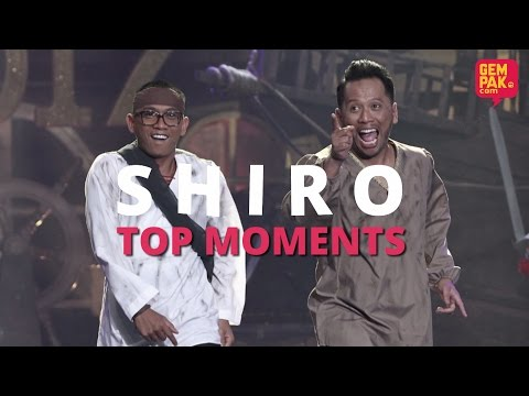 Maharaja Lawak Mega 2017 | Shiro Top Moments