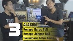 Conclusion Review Soundcard A-Pro Audio Audiobox USB