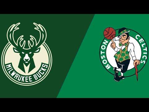 NBA Live Stream   Milwaukee Bucks Vs Boston Celtics   Live Reactions & Chat