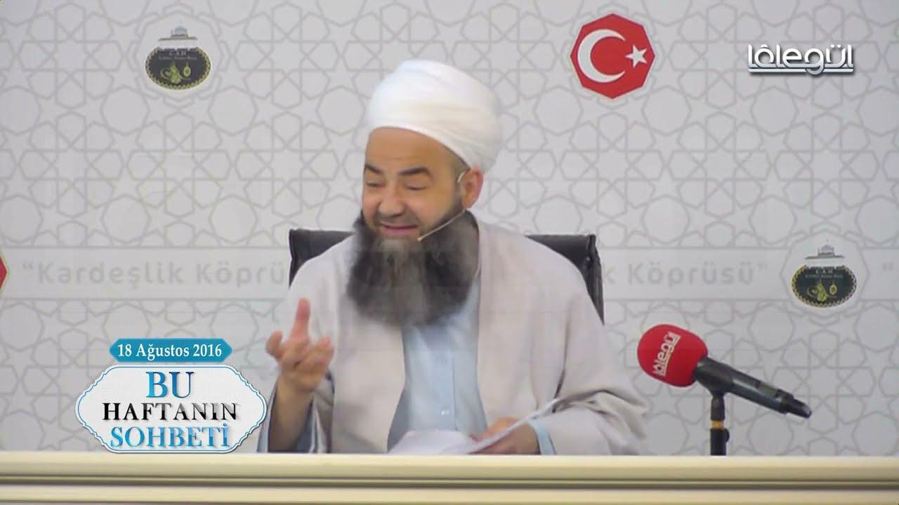 18 Ağustos 2016 Tarihli Bu Haftanın Sohbeti - Cübbeli Ahmet Hocaefendi Lâlegül TV