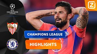 WOW! GIROUD IS NIET TE STOPPEN! 😱 | Sevilla vs Chelsea | Champions League 2020/21 | Samenvatting