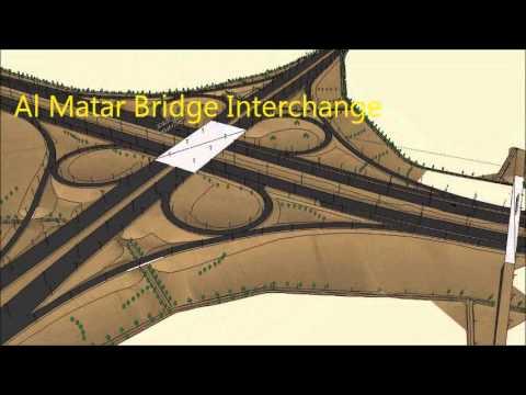 Proposed highway P011(P2) Doha, Qatar