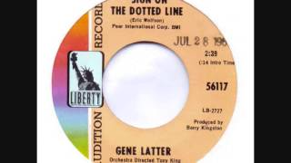 gene latter + sign on the dotted line + liberty