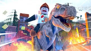 Roblox - JURASSIC WORLD MOVIE: Indominous Rex! (Roblox Dinosaurier Simulator)
