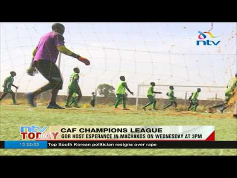 Gor Mahia to host Tunisian giants Esperance in Machakos on Wednesday