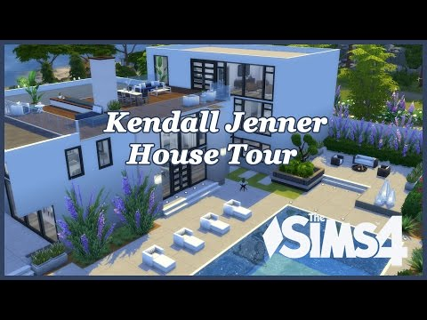 The Sims 4 - Kendall Jenner House Tour!