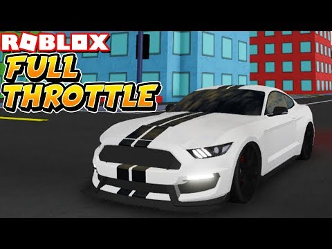 The New *MUST PLAY* Racing Game Is HERE! (Roblox Full-Throttle)