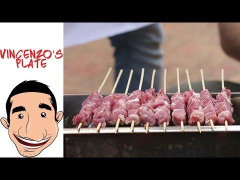 How to make Arrosticini Abruzzesi   Italian lamb skewers feat BBQ Aroma