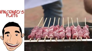 How to make Arrosticini Abruzzesi | Italian lamb skewers feat BBQ Aroma