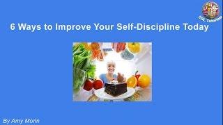 [ESL Tutorials] - 6 Ways to Improve Your Self Discipline Today