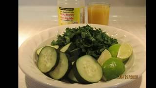 Bienestar y Salud; Perejil= Diuretico, desintoxica el cuerpo, combate la retencion de liquidos y muy valioso por sus muchos beneficios. Pepino= Depurativo y ...
