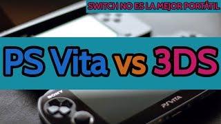 PS Vita vs 3DS: La mejor portátil y por qué Switch no lo es
