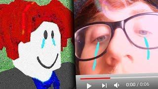 Roblox triste historia de trampas (lloró en video)
