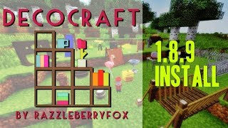 DECOCRAFT 2 MOD 1.8.9 minecraft - how to download and install decocraft 1.8.9 (with forge)